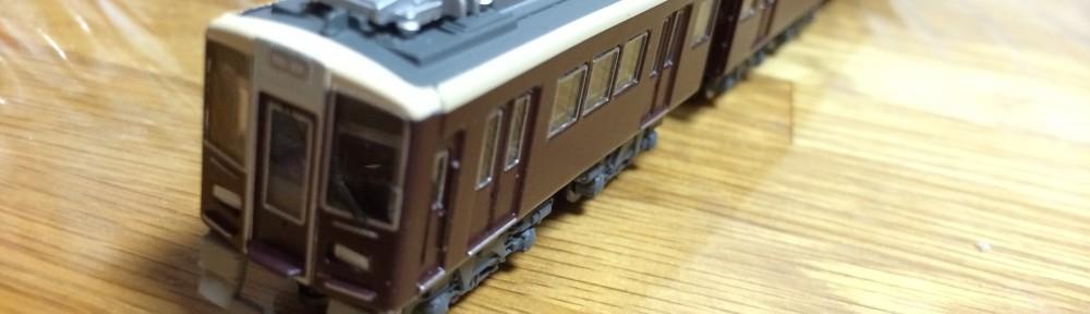 【Bトレ】阪急電車7000系更新車を組み立てましたよ…と。